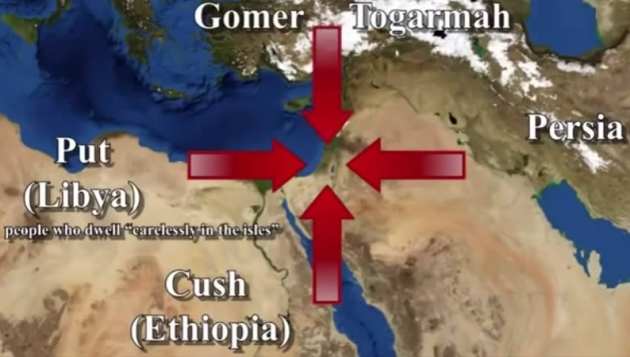 Image result for The appearance of false christs, wars and rumors of wars